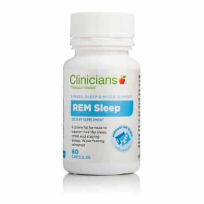 Clinicians REM Sleep Capsules 60