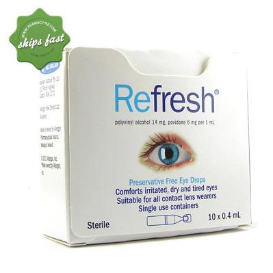 REFRESH EYE DROPS 10 x 0 4ML