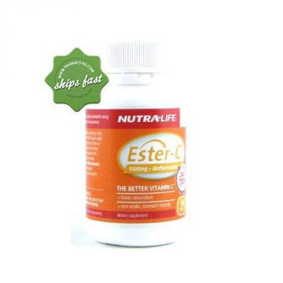 NUTRALIFE ESTER C 1000MG PLUS BIOFLAVONOIDS 50 TABLETS