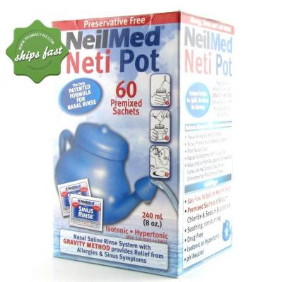 SINUS RINSE NETI POT and SACHETS