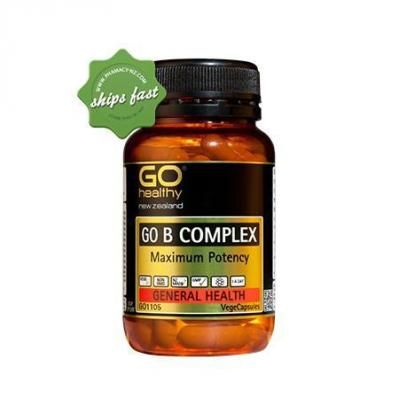GO HEALTHY GO B COMPLEX 30 VEGECAPS