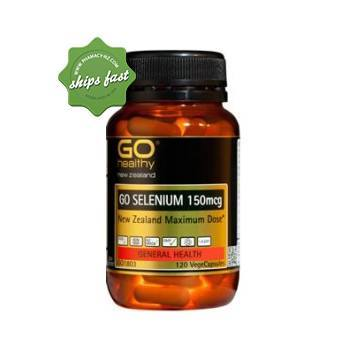 GOHEALTHY SELENIUM VEGECAPS 120