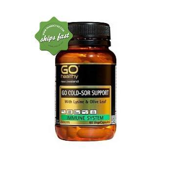 GO HEALTHY GO COLD SORE SUPPORT 30 VEGECAPSULES