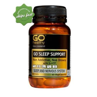 GOHEALTHY SLEEP SUPPORT VEGECAPS 60