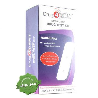 DRUG ALERT MARIJUANA URINE TEST 5 PACK