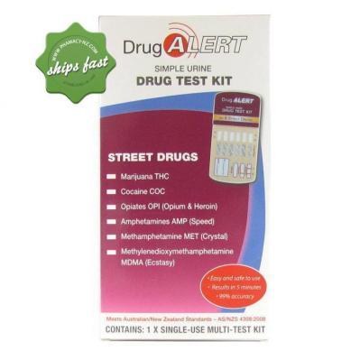 DRUG ALERT STREET DRUGS 1 PACK URINE TEST KIT