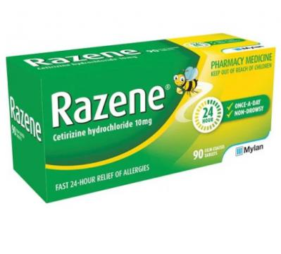 Razene Allery Relief 10mg 90 Tablets
