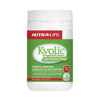 Nutralife Kyolic Aged Garlic 120 Capsules