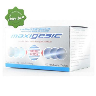 MAXIGESIC PAIN RELIEF 100S TABLETS
