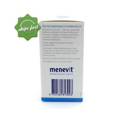 MENEVIT 30 CAPSULES