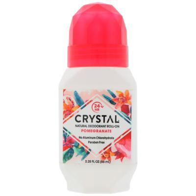 Crystal Essence Roll On Deodorant Pomegranate 66ml
