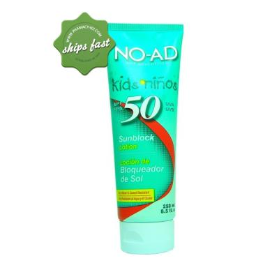 No Ad Kids Spf 50 250ml