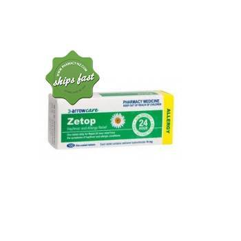 ZETOP 10MG 10 FILM COATED TABLETS
