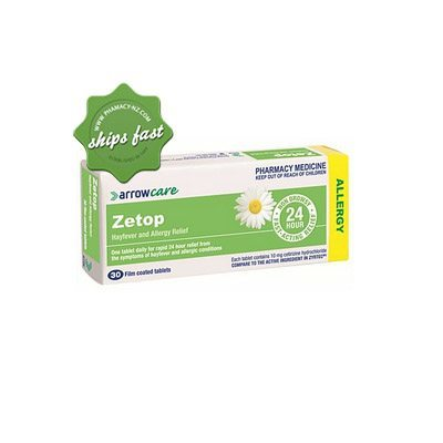 ZETOP 10MG 30 FILM COATED TABLETS
