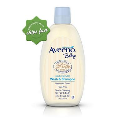 AVEENO BABY WASH SHAMPOO 236ml