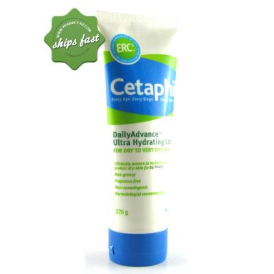 CETAPHIL DAILY ADVANCE ULTRA HYDRATING LOTION 226gm (Special buy online only)