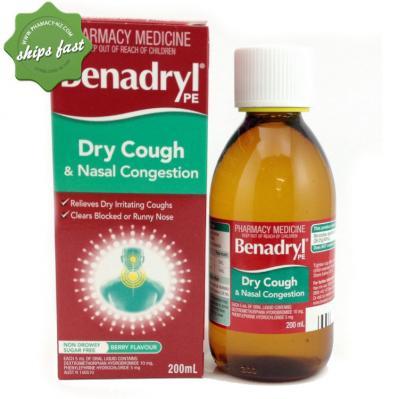 BENADRYL PE DRY CoughNC 200ml