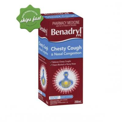 BENADRYL PE CHESTY NASAL 200ml