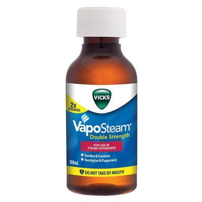 Vicks Vapo Steam Double Strength Inhalant 100ml