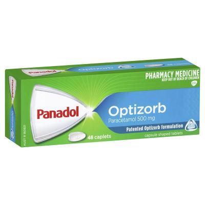 Panadol Optizorb Caplets 48