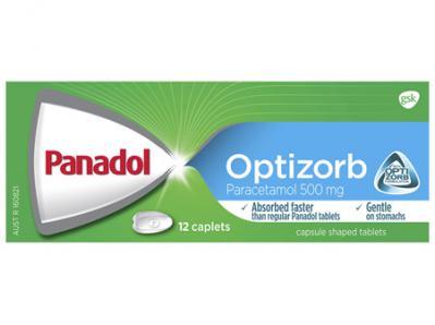 Panadol Optizorb 12 Caplets