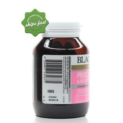 BLACKMORES PREG BREASTFEED 60