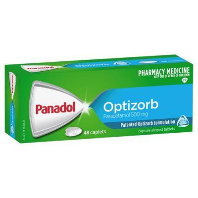Panadol Optizorb 48 Caplets