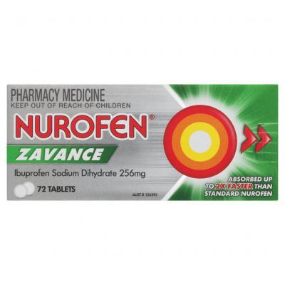 Nurofen Zavance Tablets 72