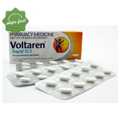 VOLTAREN RAPID TABLETS 12 5MG 30