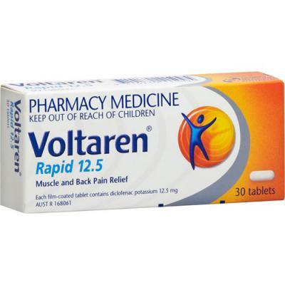 Voltaren Rapid 12.5mg Tablets 30
