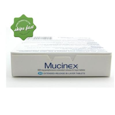 MUCINEX EXPECTORANT 12 HR TABLETS 20s