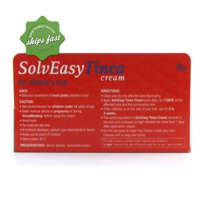 EGO SOLV EASY TINEA CREAM 30GM (Special buy online only)