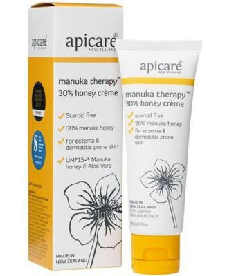 Apicare Manuka Therapy 30% Honey Skin Creme 50g