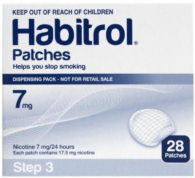 HABITROL PATCH STEP 3 7MG 28
