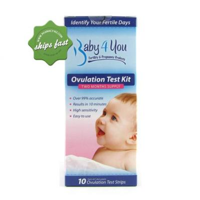 BABY 4 YOU OVULATION KIT 10