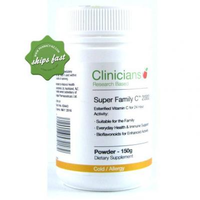 CLINICIANS SUPER FAMILY C 2000 POWDER 150G