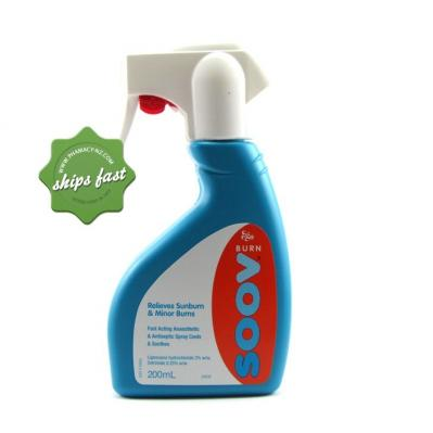 SOOV BURN SPRAY 200ML
