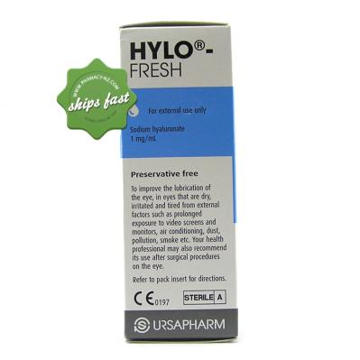 HYLO FRESH LUBRICATING EYE DROPS 10ML