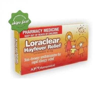 Loraclear Allergy Relief 90 Tablets