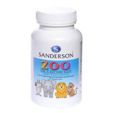 Sanderson Zoo Kids Multi Vitamin 90 Chewable Tablets