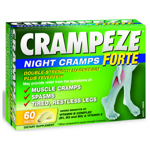 CRAMPEZE NIGHT CRAMPS FORTE 60s