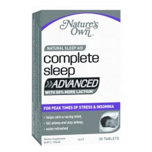 NATURES OWN COMPLETE SLEEP ADVANCED 30 TABS