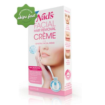 NADS FACIAL HAIR REMOVAL CREME FOR DELICATE AREAS 28G