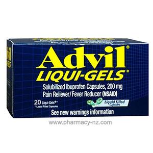 ADVIL LIQUID 20 CAPSULES