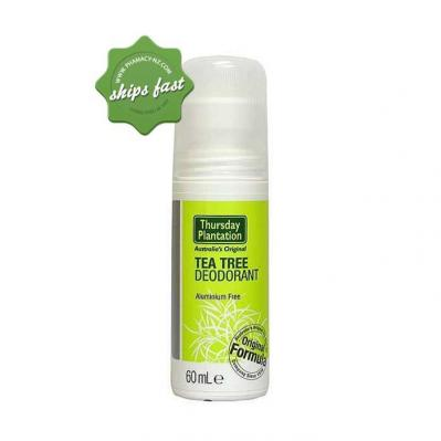 THURSDAY PLANTATION TEA TREE ANTIPERSPIRANT SPORT ALUMINIUM FREE DEODORANT 60ML
