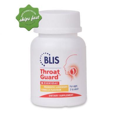 BLIS K12 THROAT GUARD DAILY SUPPORT VANILLA LOZENGES 16