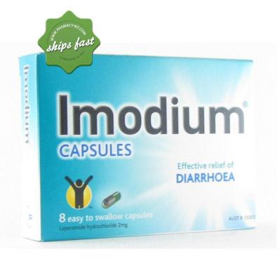 IMODIUM CAPSULES 2MG 8s