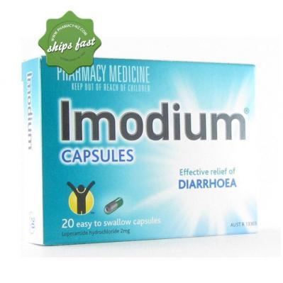 IMODIUM CAPSULES 2MG 20s