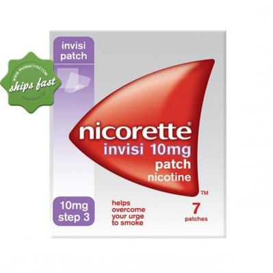 NICORETTE 16 HR INVISIPATCH STEP 3 10MG X 7 PATCHES