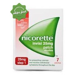 NICORETTE 16HR INVISIPATCH STEP 1 25MG X 7 PATCHES